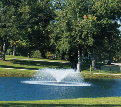 Pond Aeration Applications